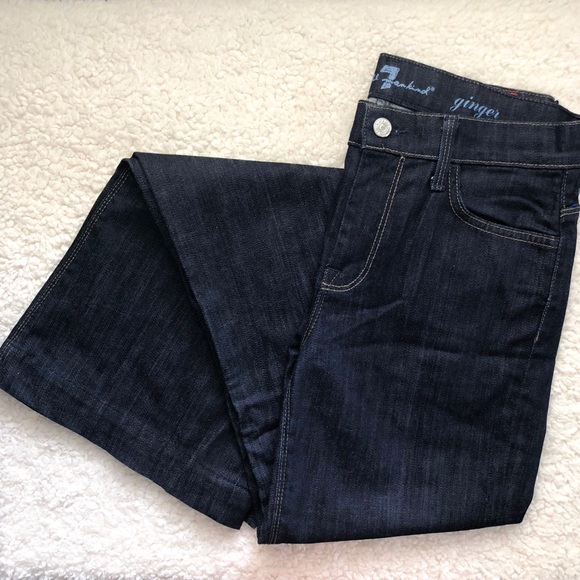 7 For All Mankind Denim - 7 For All Mankind Ginger Flare Jeans Size 28